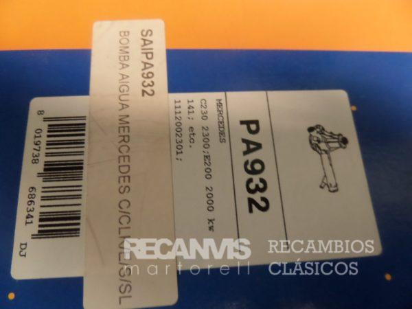 SALPA932-BOMBA-AGUA-MERCEDES-C230